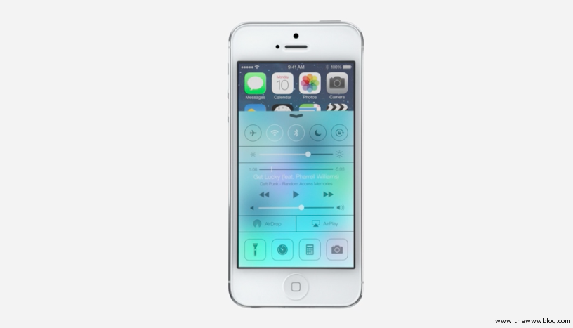 Apple iOS 7 Interface