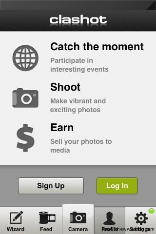Clashot App Intro