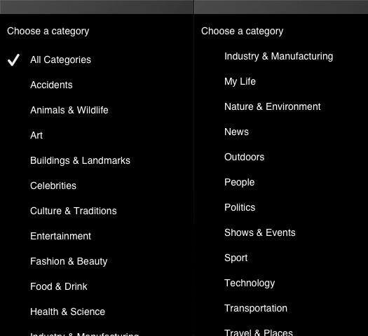 Clashot Categories