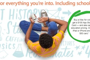 Apple App Store Gift Cards Promotion for Students for 2013 – On Purchasing Mac, iPad or iPhone