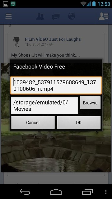 Facebook Video Free Download