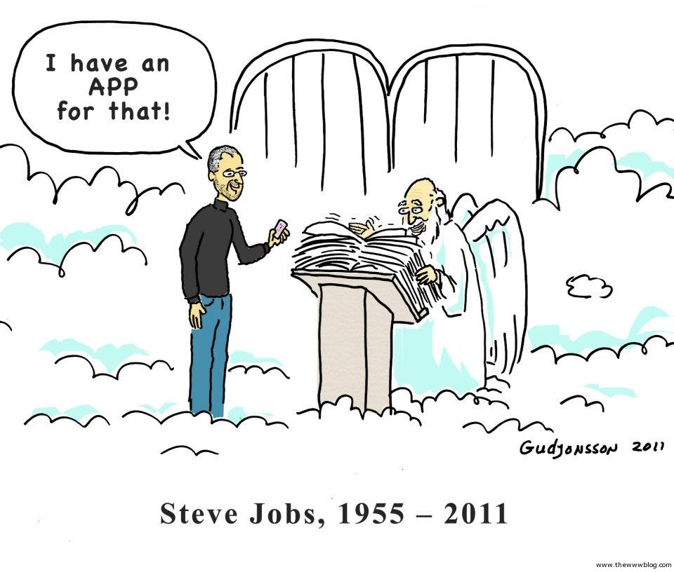 Steve Jobs Cartoon