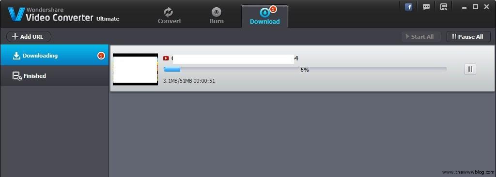 Wondershare Video Converter Downloading