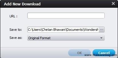 Wondershare Video Converter Ultimate Add New Download