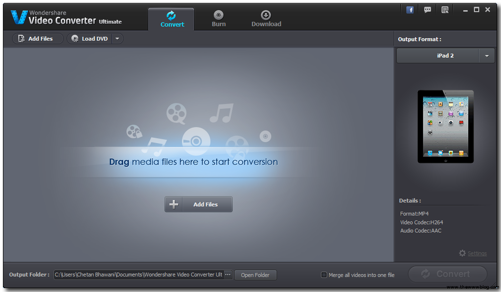 Wondershare Video Converter Ultimate for Windows OS – Review, Features and Giveaway