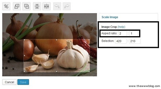 Wordpress Image Aspect Ratio