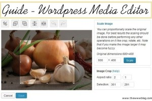 How to Edit Media / Pictures through WordPress Admin Panel [Image Editor]