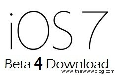 Download iOS 7 Beta 4 for your iPhone, iPod Touch and iPad