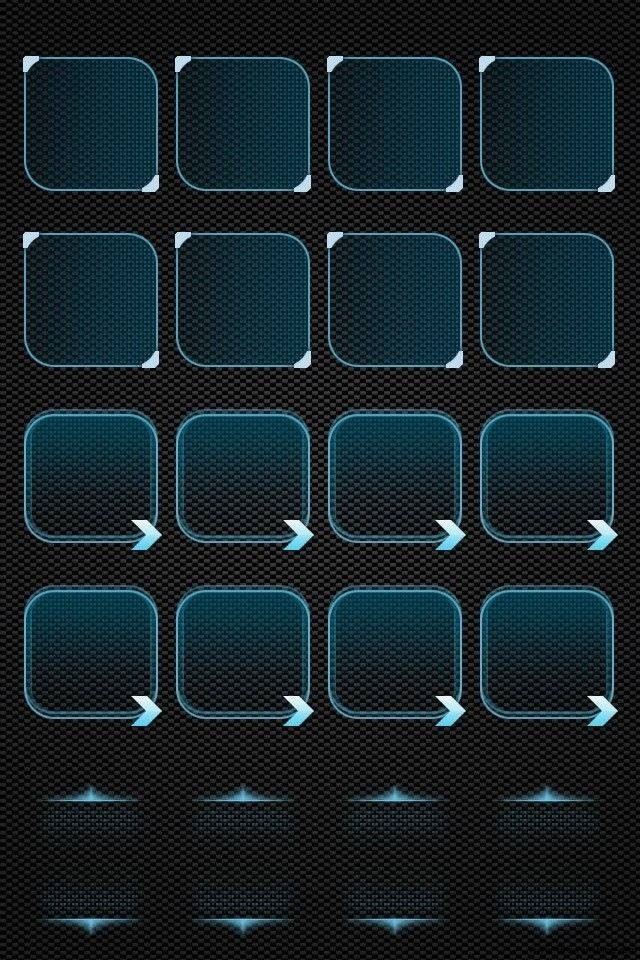 15 Awesome iPhone Shelf Wallpapers for Home Screen App Rows