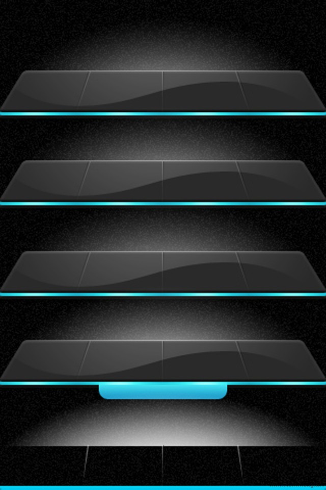 The Www Blog 15 Awesome Iphone Shelf Wallpapers For Home Screen App Rows Apple