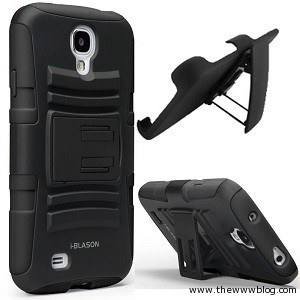 i-Blason Prime Series Dual Layer Holster Case Kick Stand S4