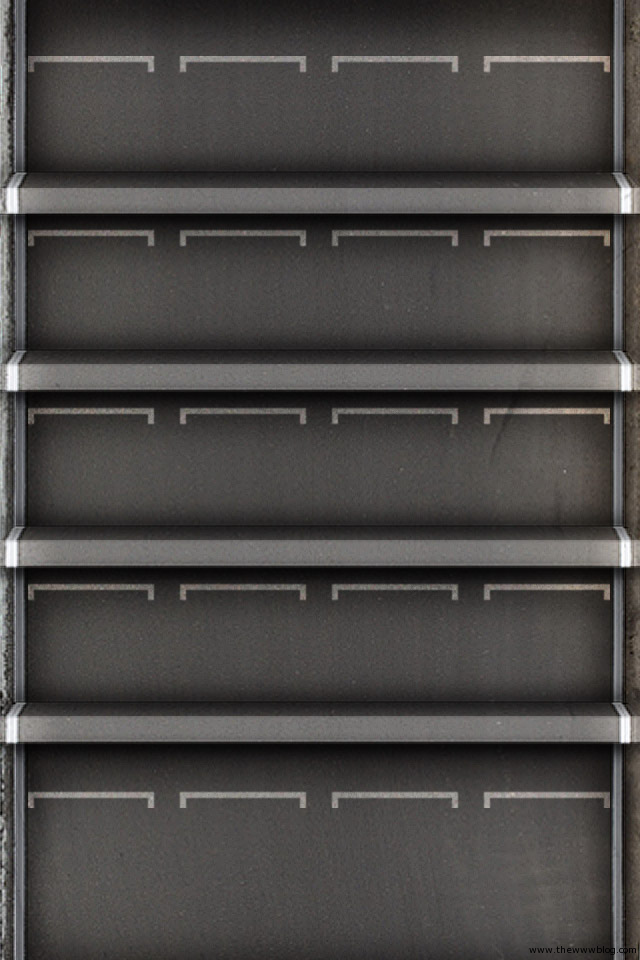 Shelf Wallpaper for iPhone 4