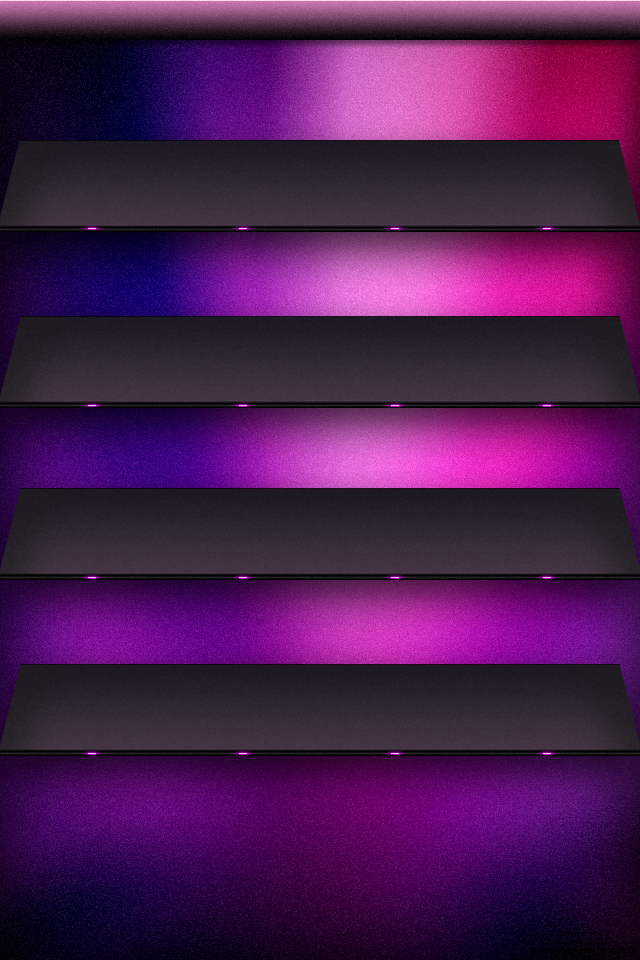 Purple Shelf iPhone Wallpaper