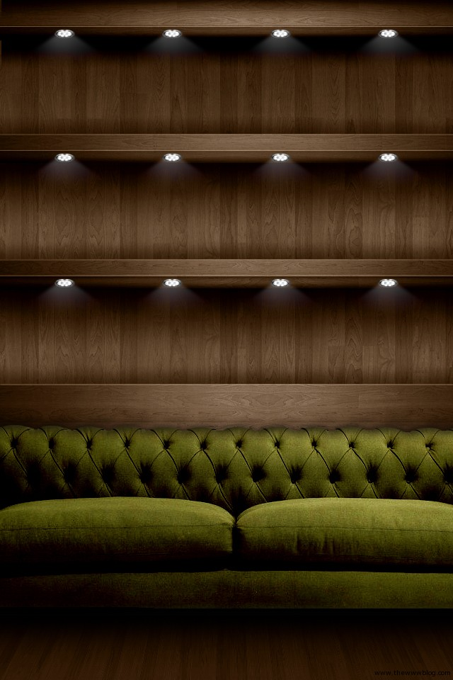 Sofa Shelf Wallpapers for iPhone