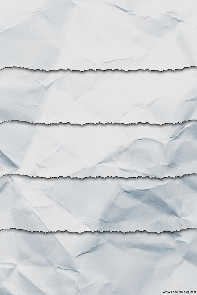 Torn Paper iPhone Wallpaper