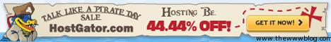 Hostgator 44 44 off