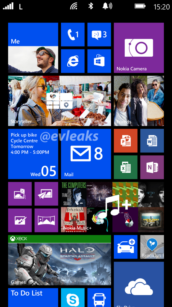 Nokia Lumia 1520 Screenshot
