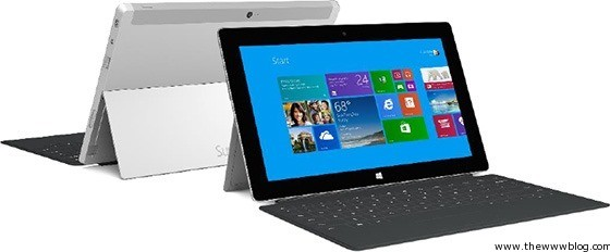 Microsoft Surface 2 and Surface Pro 2 Specifications, Accessories & Details