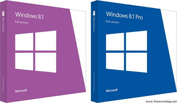 Windows 8.1 Retail Package