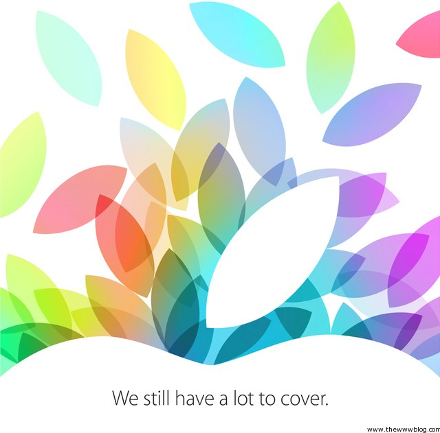 Apple Oct 22nd Event Invite
