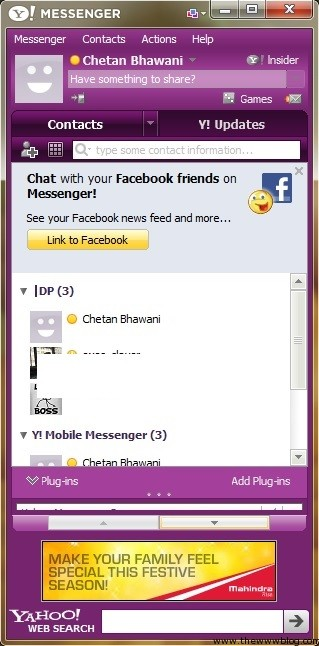 Yahoo Messenger for Windows