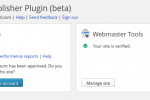 Google Publisher Plugin Logged In
