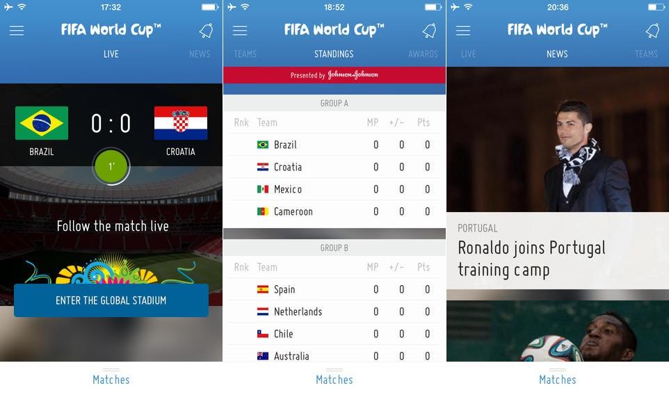 FIFA 2014 App iOS