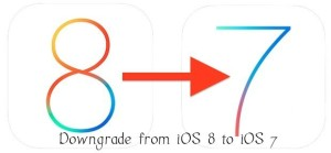 How to Downgrade from iOS 8 Beta to iOS 7.1.1 in your iPhone, iPad