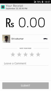 Uber Trip Cost