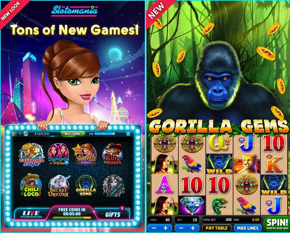 Slotomania App Review: Free Fun Slot Games Can be Nowhere Else