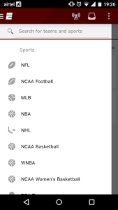 ESPN Android App 1