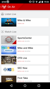 ESPN Android App 2
