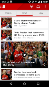ESPN Android App 3