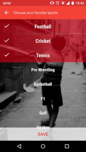 Sportskeeda Android App 1