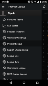 Yahoo Sports Android App 1