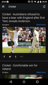Yahoo Sports Android App 2